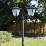 2-head solar light full height