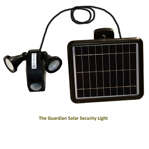 Guardian Solar Security Light