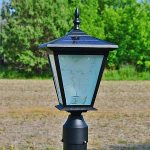 post mounted solar light - GALAXY PLUS