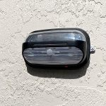 helios wall mount solar light